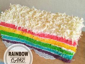 Rainbow Cake Kukus Ny Liem Resep Kue Pelangi Resep Dan