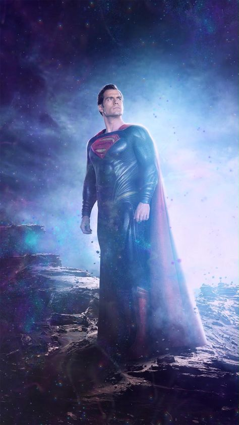 Animated Video GIF(DOWNLOAD) Phone Wallpaper Superman Henry Cavill