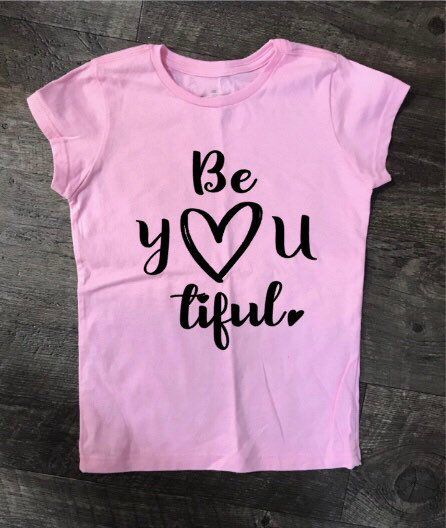 Be YOU tiful Kids Valentine shirt