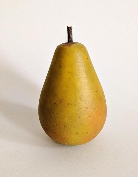 green Pear handcarved grocery items