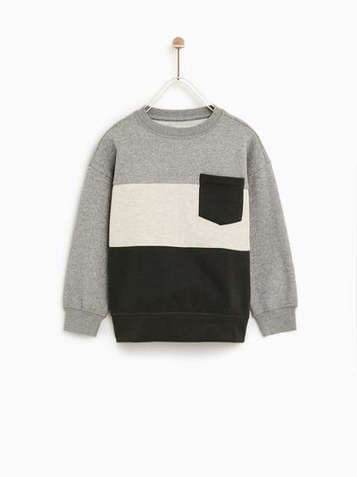 Billede 1 Af T Shirt Med Farveblok Fra Zara Ropa Para Ninas Ropa Tumblr Ropa