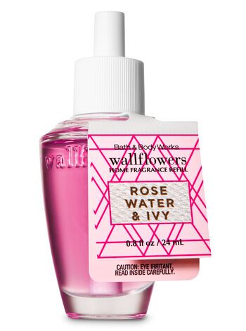 Rose Water Ivy Wallflowers Fragrance Refill Bath Body Works Bath And Body Works Bath And Body Body Works