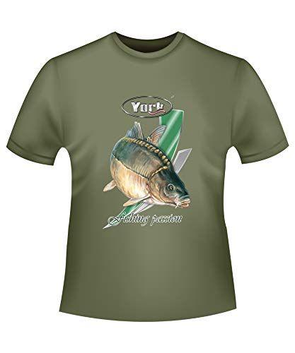 Cadeau pour pêcheur & pêcheur Fishing Passion T-shirt de pêche Vêtement de pêche Idée cadeau Tailles M-L-XL-XXL (carpe XL)