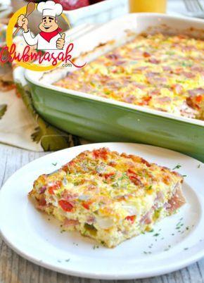 Resep Omelet Sosis Keju Dan Daging Enak Dan Praktis Resep Omelet Masakan Resep Makanan Masakan Indonesia