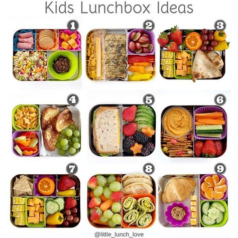 Major #LunchBoxInspiration for this upcoming week, thanks to Jenny of @Little_Lunch_Love. These lunches are packed in a variety of our bento boxes – the Large Cinco, Large Trio, Medium Duo, and Medium Trio. Which of Jenny's #LunchBots will you recreate first?!