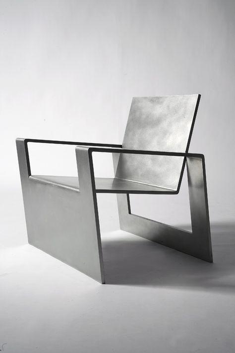#NosGusta #NosInspira Forrest Myers, Manifold, stainless steel chair (edition of 8),
