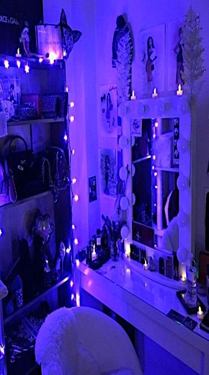 Grunge Purple Aesthetic Bedroom Homyracks