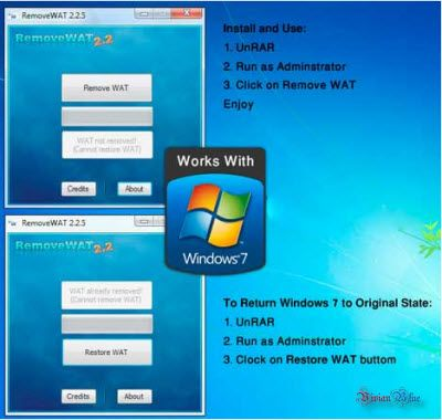 Removewat Free Download For Windows 7 Filehippo Removewat 2 2 6