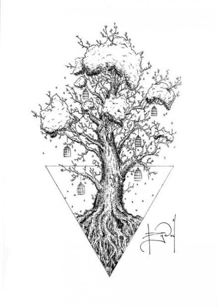 29 Trendy Ideas For Family Tree Tattoo On Side Geometric Tattoo Family Tree Tattoo Tree Tattoo Designs