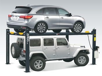 Amgo Hydraulics 408 P Parking Service 4 Post Car Lift 8 000 Lbs Best Buy Auto Equipment In 2020 Car Lifts 4 Post Car Lift Lifted Cars
