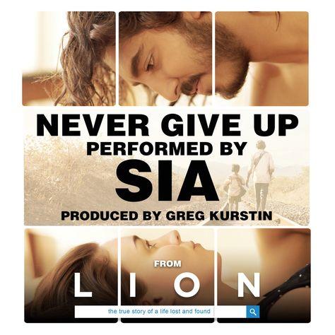 Sia Never Give Up 2k16 Download Musica Filmes Entretenimento