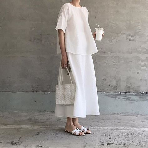 • minimal look #shooting #shoes #style #fashion #white #dress