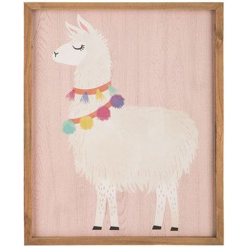 Llama Wood Wall Decor Wood Wall Decor Wall Decor Online Wood Wall
