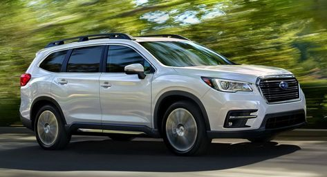 2019 Subaru Ascent 7 Seater Suv Priced From 31 995 7 Seater Suv