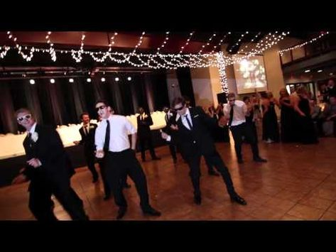 Kelsey and Kyle Kupecky's Wedding - Bridal Party Dance-Off (Anthem Lights)