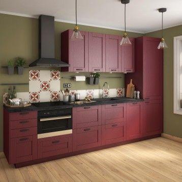 Porte De Cuisine Chicago Bordeaux Delinia Id H 76 8 X L 59 7 Cm Kitchen Cabinets And Cupboards Kitchen Home Decor