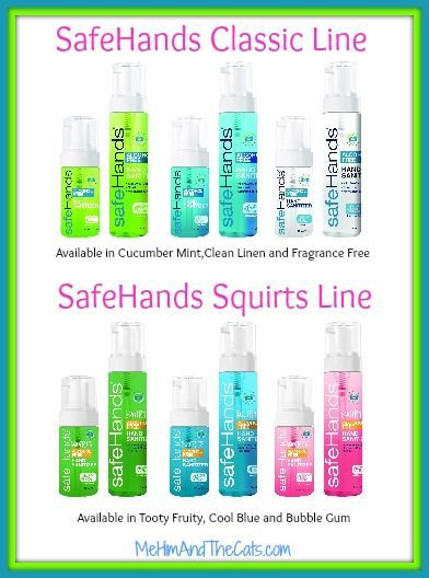 Read My Full Review Of Safehands A Non Alcohol Hand Sanitizer In