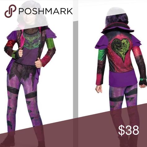 X-Large Mal Isle of the Lost Deluxe Costume