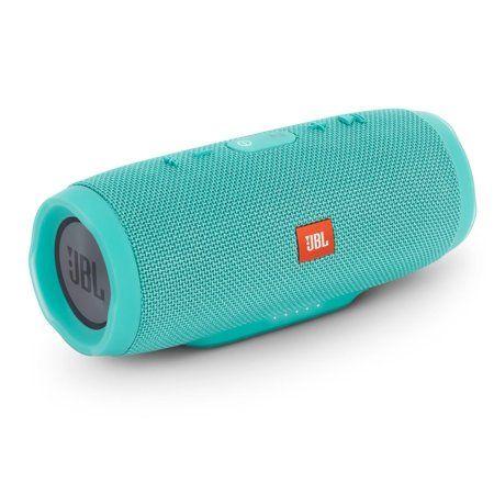 Jbl Charge 3 Teal Open Box Waterproof Bluetooth Speaker Walmart Com Wireless Speakers Bluetooth Bluetooth Speakers Portable Jbl Bluetooth