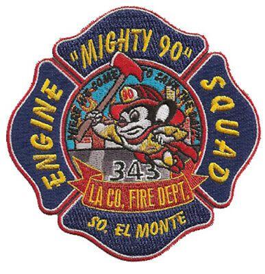 Fire Patch California LA County Station 98