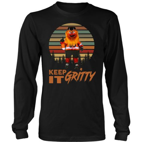 2f4e25e6c Keep It Gritty Flyers Mascot Vintage Shirt