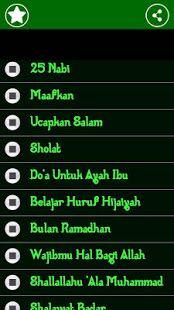 Lagu Anak Islami Aplikasi Di Google Play Lagu Lirik Lagu Aplikasi