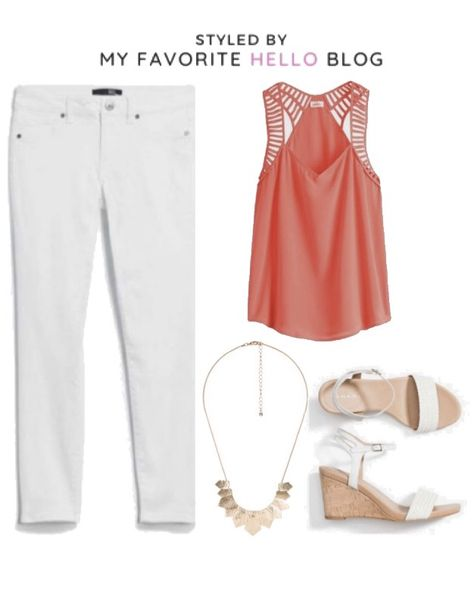 June Edition: 30 Stitch Fix Summer Outfits with 14 Pieces | My Favorite Hello Blog