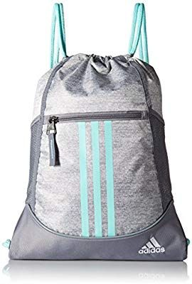 1c395e054d835 Amazon.com: adidas Alliance II Sack Pack, One Size, Stone Jersey ...