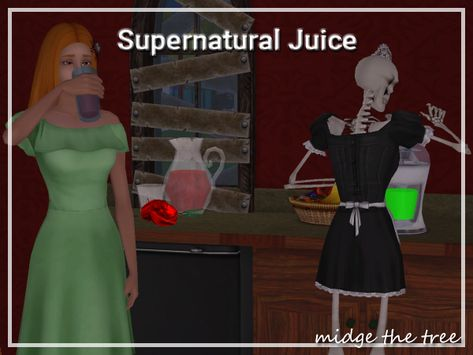 Supernatural Juicer Some might recall when I made my supernatural garden set I claimed the juicer used too many LUAs for me to make plasma and life fruit work properly with it. Luckily I was stubborn...