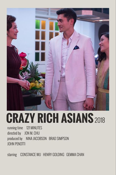 Crazy Rich Asians by Maja