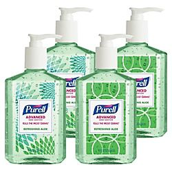 Purell Advanced Design Series Hand Sanitizer With Aloe 8 Oz Pack