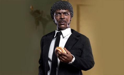 The Star Ace Jules Winnfield Sixth Scale Figure Is Available At