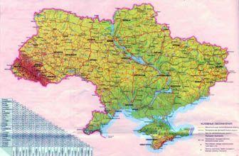 Bolshaya Detalnaya Karta Vysot Ukrainy S Avtodorogami