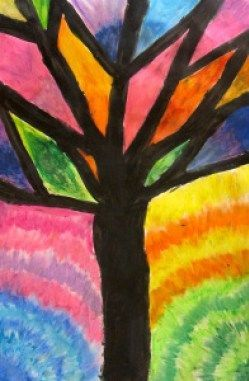Elementary Abstract Pastel Trees Grade Basic Thth Blog Oil Art Is Anabstract Oil Pastel Oil Pastel Drawings Easy Oil Pastel Art Oil Pastel Drawings