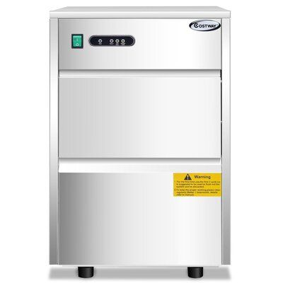 Setemi Automatic 58 Lb Daily Production Freestanding Clear Ice
