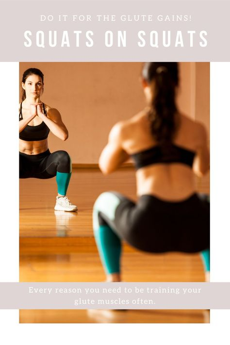 SQUAT LIKE IT'S HOT and get that summer body back! #summerbody #30minuteworkout #squatroutine #gluteexercise #buttmuscles #trainyourbody #healthyliving #workingout #workoutroutine #femalebodybuilders
