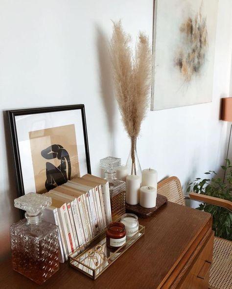 vintage home inspiration | interior design styling ideas | table decor inspo