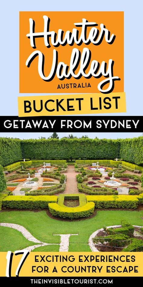 17 Fun Things to Do in Hunter Valley for a Country Escape