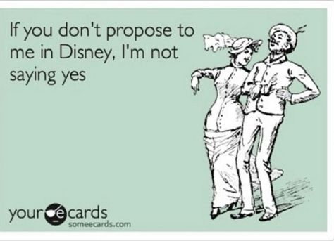 Disney engagement... Please, I would still say yes but I think it would be so cool to get engaged there