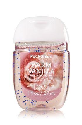Warmer Vanillezucker Pocketbac Desinfizierendes Handgel Bade