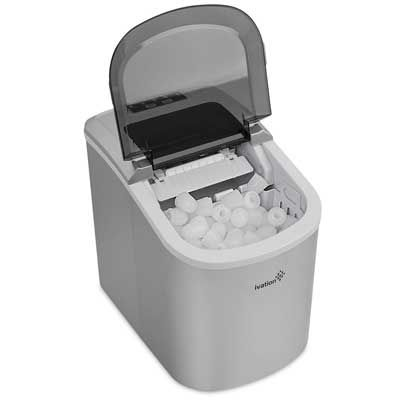 Top 10 Best Portable Ice Makers In 2020 Reviews Portable Ice Maker Portable Ice Maker Camping Ice Maker