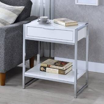 Haings End Table End Tables With Storage Contemporary End Tables End Tables