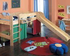 Taube Oliver Kinderzimmer Hochbett Artikelbild U1 Loft Bed Bed