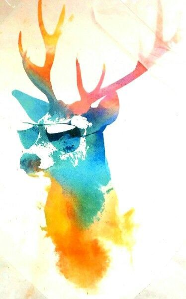 Sunny Stag Canvas Print By Robert Farkas Numbered Edition From 59 Curioos Stag Wallpaper Phone Background Wallpaper Deer Art