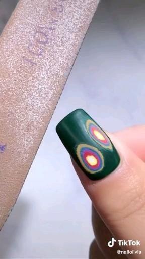 The best nail design trend tutorial. Its a incredible nail art . #nails #nailpolish #nailart #nailwork #nailtutorial #glowify