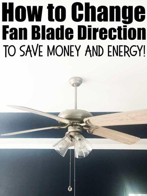 How To Change Fan Direction And Why