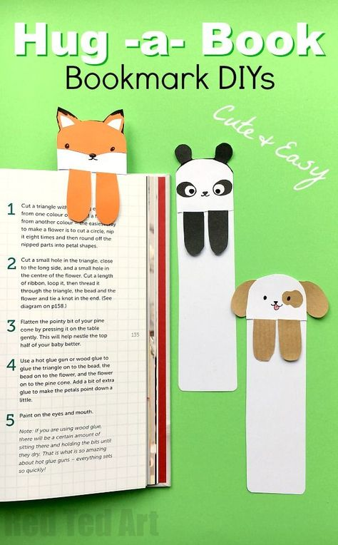 Looking for some cute and easy bookmark DIYs? Have a go at these