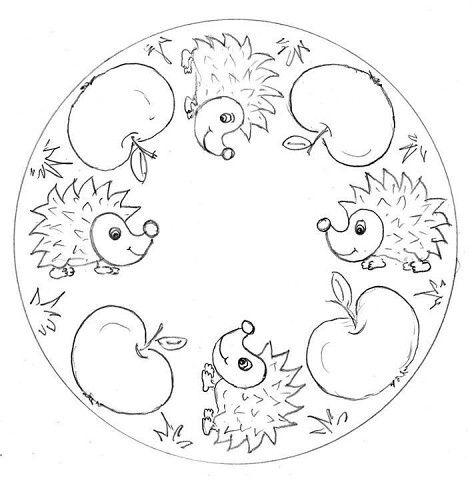 Osennie Raskraski Mandaly Ok Ru Mandala Coloring Mandalas For Kids Mandala