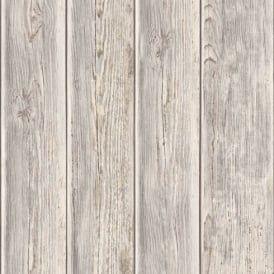 REALISTIC TEXTURED VINYL GREY WOOD EFFECT FEATURE WALLPAPER GRANDECO A17402