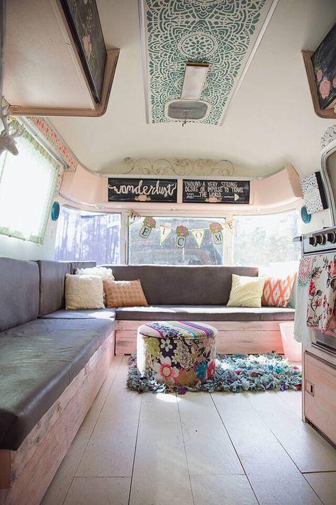 Airstream Remodel caravan